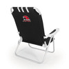 Picnic Time Black NCAA Miami Redhawks Steel Folding Beach Chair