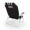 Picnic Time Black NCAA Mississippi State Bulldogs Steel Folding Beach Chair