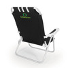 Picnic Time Black NCAA Oregon Ducks Steel Folding Beach Chair