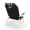 Picnic Time NCAA Purdue Boilermakers Steel Beach Chair