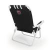 Picnic Time Black NCAA South Carolina Gamecocks Steel Folding Beach Chair