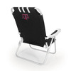Picnic Time Black NCAA Texas A&M Aggies Steel Folding Beach Chair