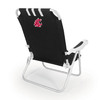 Picnic Time Black NCAA Washington State Cougars Steel Folding Beach Chair