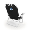 Picnic Time Black NCAA Byu Cougars Steel Folding Beach Chair