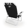 Picnic Time Black NCAA Richmond Spiders Steel Folding Beach Chair