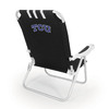 Picnic Time NCAA TCU Horned Frogs Steel Beach Chair