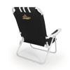 Picnic Time Black NCAA East Carolina Pirates Steel Folding Beach Chair
