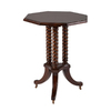 Cooper Classics Dark Chestnut Mahogany End Table