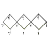 UMA Enterprises 10-Hook Mounted Coat Rack