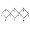 Woodland Imports 10-Hook Mounted Coat Rack