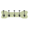 Woodland Imports 5-Hook Mounted Coat Rack