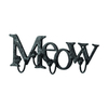 UMA Enterprises Meow 4-Hook Mounted Coat Rack