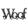 UMA Enterprises Woof 4-Hook Mounted Coat Rack