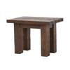 Viking Industries Barnwood Dark Barnwood Pine Rectangular End Table