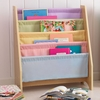 KidKraft Pastel 28-in 4-Shelf Bookcase