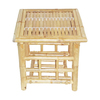 Bamboo 54 Natural Oil Bamboo Square End Table
