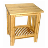 Bamboo 54 Natural Oil Bamboo Rectangular End Table