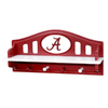 Fan Creations University of  Alabama 4-Hook Mounted Coat Rack