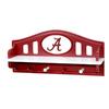 Fan Creations University of  Alabama 4-Hook Mounted Coat Rack