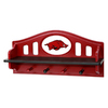 Fan Creations University of  Arkansas 4-Hook Mounted Coat Rack