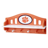 Fan Creations Clemson University 4-Hook Mounted Coat Rack
