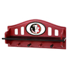 Fan Creations Florida State University 4-Hook Mounted Coat Rack