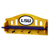 Fan Creations Lsu 4-Hook Mounted Coat Rack