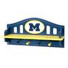 Fan Creations University of  Michigan 4-Hook Mounted Coat Rack