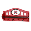 Fan Creations University of  Nebraska 4-Hook Mounted Coat Rack