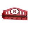 Fan Creations University of  Nebraska 4-Hook Mounted Coat Rack