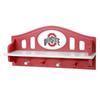 Fan Creations Ohio State University 4-Hook Mounted Coat Rack