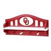 Fan Creations University of  Oklahoma 4-Hook Mounted Coat Rack