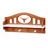 Fan Creations University of  Texas 4-Hook Mounted Coat Rack