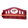 Fan Creations Virginia Tech 4-Hook Mounted Coat Rack