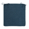 Colonial Mills Allure Polo Blue Solid Chair Cushion
