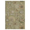 Kaleen Home & Porch 24-in x 36-in Rectangular Multicolor Floral Accent Rug