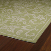 Kaleen Home and Porch Rectangular Green Floral Accent Rug (Common: 3-ft x 5-ft; Actual: 36-in x 60-in)