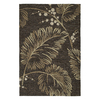Kaleen Home and Porch Rectangular Brown Floral Accent Rug (Common: 2-ft x 3-ft; Actual: 24-in x 36-in)