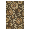 Kaleen Carriage 9-ft x 12-ft Rectangular Multicolor Floral Area Rug
