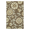 Kaleen Carriage 24-in x 36-in Rectangular Multicolor Floral Accent Rug
