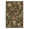 Kaleen Khazana 8-ft x 11-ft Rectangular Multicolor Floral Area Rug