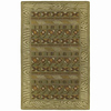 Kaleen Kanha 24-in x 36-in Rectangular Multicolor Transitional Accent Rug