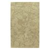 Kaleen Calais Rectangular Brown Floral Wool Area Rug (Common: 8-ft x 11-ft; Actual: 8-ft x 11-ft)