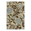 Kaleen Calais 8-ft x 11-ft Rectangular Multicolor Floral Area Rug