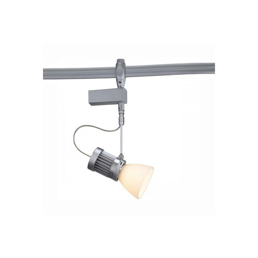 systems led matte chrome flexible track lighting head at. Black Bedroom Furniture Sets. Home Design Ideas