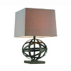 Gen-Lite 24-1/2-in 3-Way Bronze Table Lamp with Shade