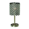 Gen-Lite 17-in Antique Gold Table Lamp with Shade
