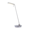 Gen-Lite 22-1/4-in Adjustable Satin Nickel Desk Lamp