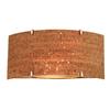 Philips Forecast 16-in W Alentejo Edge Bow 2-Light Satin Nickel Pocket Wall Sconce