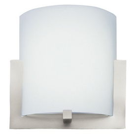 Philips Forecast 12-in W 2-Light Satin Nickel Pocket Hardwired Wall Sconce
